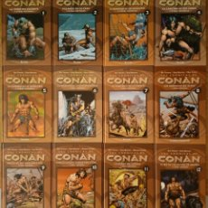 Cómics: LAS CRONICAS DE CONAN - LOTE VOL. 1, 2, 3, 4, 5, 6, 7, 8, 9, 10, 11, 12 FORUM - PLANETA DEAGOSTINI. Lote 165305882