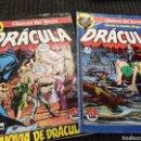 Cómics: COMIC DRÁCULA 1 Y 3 1972. Lote 165322440