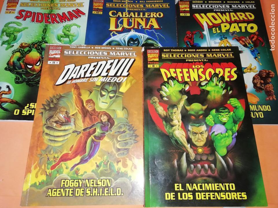 LOTE SELECCIONES MARVEL 5 TOMOS. Nº 7, 8,10,11,13. (Tebeos y Comics - Forum - Otros Forum)