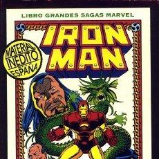Cómics: GRANDES SAGAS: IRON MAN - LA SEMILLA DEL DRAGÓN - TOMO - FORUM. Lote 222110161