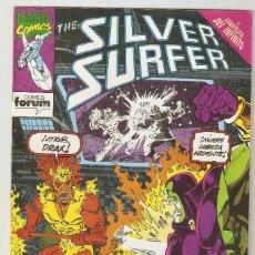 Cómics: THE SILVER SURFER - Nº 14 - ESTELA PLATEADA - CRUCE CON EL GUANTELETE DEL INFINITO - FORUM -B-. Lote 165400310