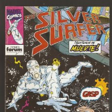 Cómics: THE SILVER SURFER - Nº 5 - ESTELA PLATEADA - FORUM -. Lote 165412878