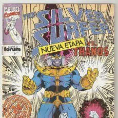 Cómics: THE SILVER SURFER - Nº 1 - ESTELA PLATEADA - VS. THANOS - FORUM -. Lote 165413138