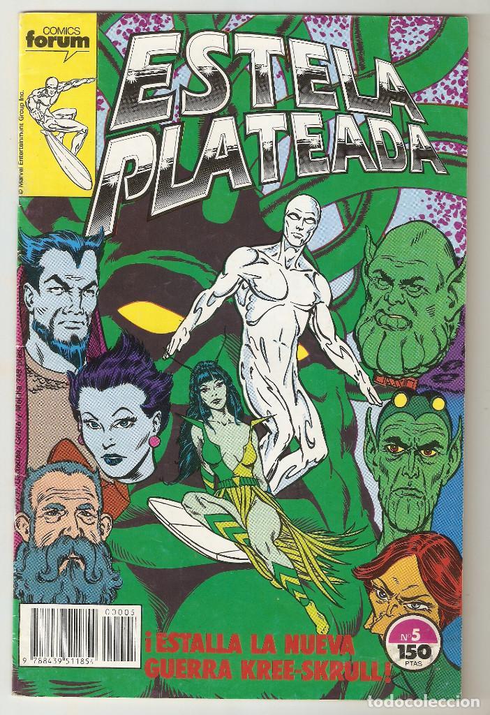 ESTELA PLATEADA - Nº 5 - VOL 1 - SILVER SURFER - ¡ESTALLA LA NUEVA GUERRA KREE-SKRULL! - FORUM - (Tebeos y Comics - Forum - Silver Surfer)