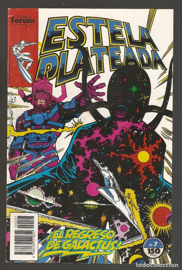 ESTELA PLATEADA - Nº 7 - VOL 1 - SILVER SURFER - ¡EL REGRESO DE GALACTUS! - FORUM - (Tebeos y Comics - Forum - Silver Surfer)