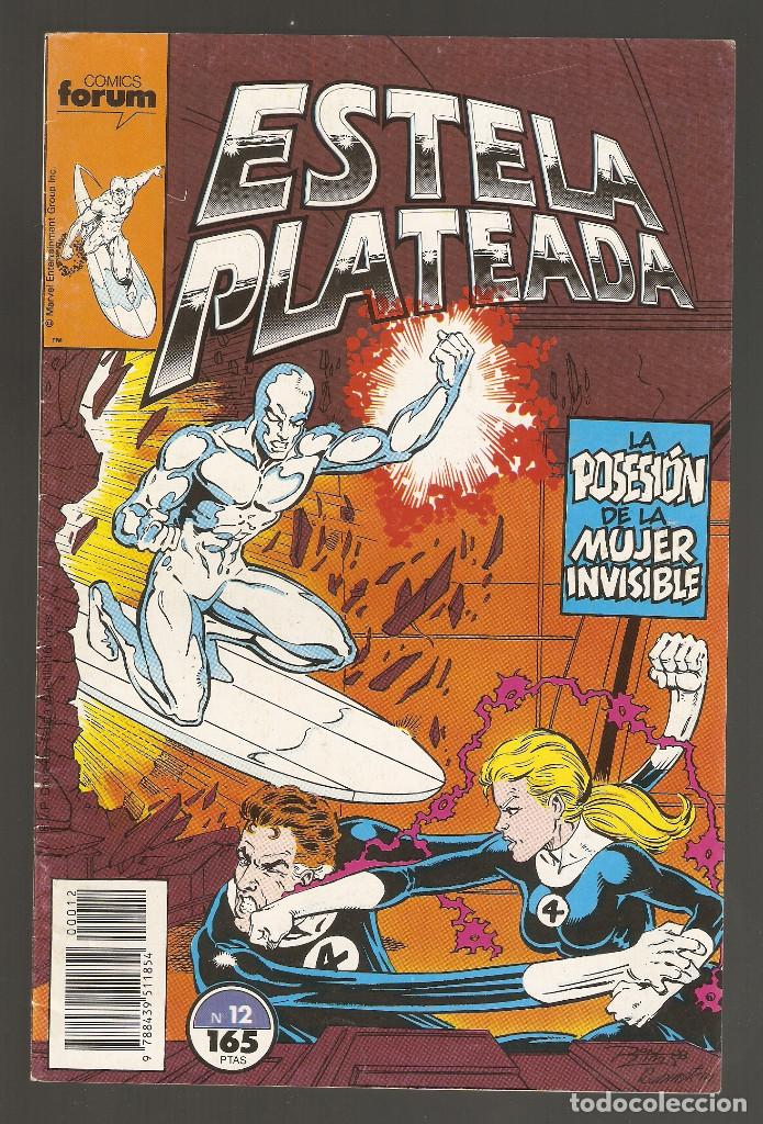 ESTELA PLATEADA - Nº 12 - VOL 1 - SILVER SURFER - LA POSESIÓN DE LA MUJER INVISIBLE - FORUM - (Tebeos y Comics - Forum - Silver Surfer)