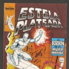 Cómics: ESTELA PLATEADA - Nº 12 - VOL 1 - SILVER SURFER - LA POSESIÓN DE LA MUJER INVISIBLE - FORUM -. Lote 165485698