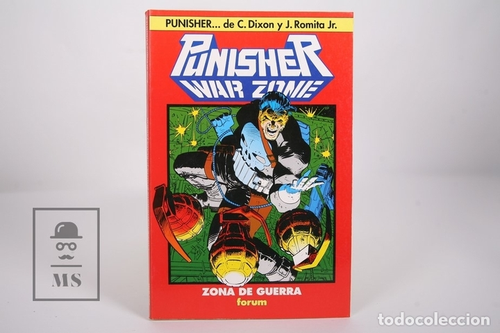 CÓMIC - PUNISHER WAR ZONE / ZONA DE GUERRA - COLECCIÓN ONE SHOT Nº 4 - EDITORIAL FORUM - AÑO 1992 (Tebeos y Comics - Forum - Otros Forum)