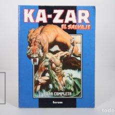 Cómics: CÓMIC - KA-ZAR EL SALVAJE / OBRA COMPLETA - 1 A 3 RETAPADO - EDITORIAL FORUM - AÑO 1999. Lote 165493041
