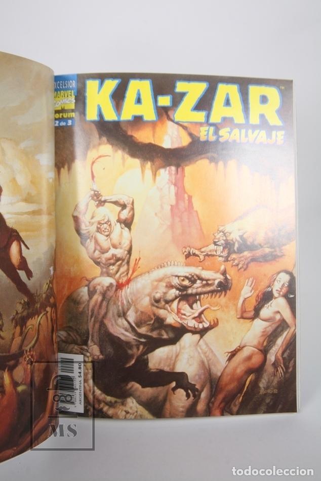 Cómics: Cómic - Ka-Zar El Salvaje / Obra Completa - 1 a 3 Retapado - Editorial Forum - Año 1999 - Foto 2 - 165493041