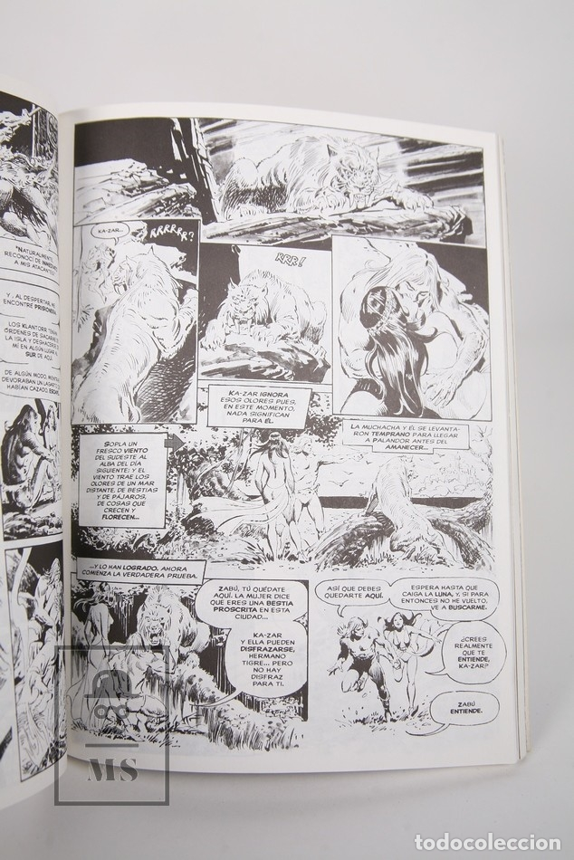 Cómics: Cómic - Ka-Zar El Salvaje / Obra Completa - 1 a 3 Retapado - Editorial Forum - Año 1999 - Foto 3 - 165493041