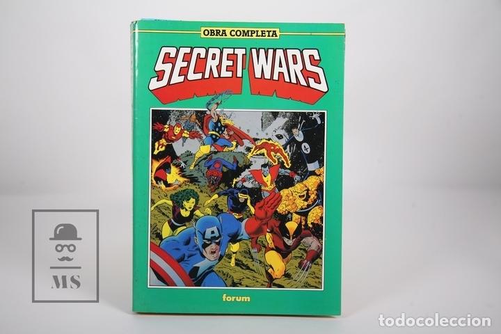 CÓMIC - SECRET WARS / OBRA COMPLETA - RETAPADOS Nº 1 AL 12 - EDITORIAL FORUM - AÑO 1991 (Tebeos y Comics - Forum - Retapados)