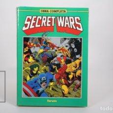 Cómics: CÓMIC - SECRET WARS / OBRA COMPLETA - RETAPADOS Nº 1 AL 12 - EDITORIAL FORUM - AÑO 1991. Lote 165494252