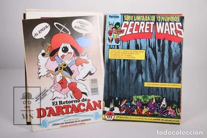 Cómics: Cómic - Secret Wars / Obra Completa - Retapados Nº 1 al 12 - Editorial Forum - Año 1991 - Foto 2 - 165494252