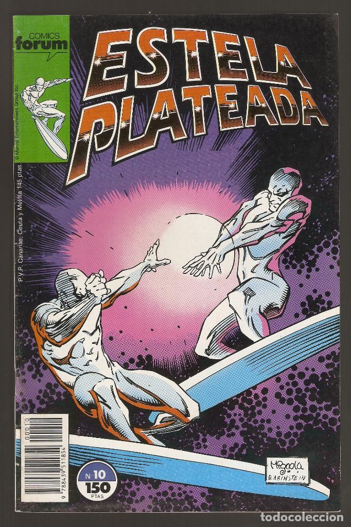 ESTELA PLATEADA - Nº 10 - VOL 1 - SILVER SURFER - MÁSCARAS - FORUM -B- (Tebeos y Comics - Forum - Silver Surfer)