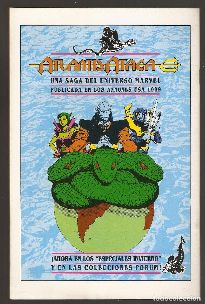 Cómics: ESTELA PLATEADA - Nº 10 - VOL 1 - SILVER SURFER - Máscaras - FORUM -B- - Foto 2 - 165540594
