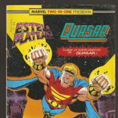 Cómics: MARVEL TWO IN ONE - ESTELA PLATEADA & QUASAR - Nº 21 - NEANDERTALES - FORUM -. Lote 165549046