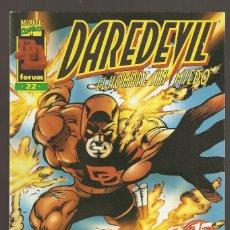 Cómics: DAREDEVIL - Nº 22 - VOL 2 BIS - 1988 - ULTIMO NUMERO - DAN DEFENSOR EL HOMBRE SIN MIEDO - FORUM -. Lote 165623158