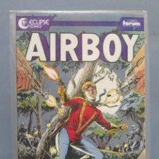 Cómics: AIRBOY. 8. FORUM ECLIPSE COMICS. Lote 165625342