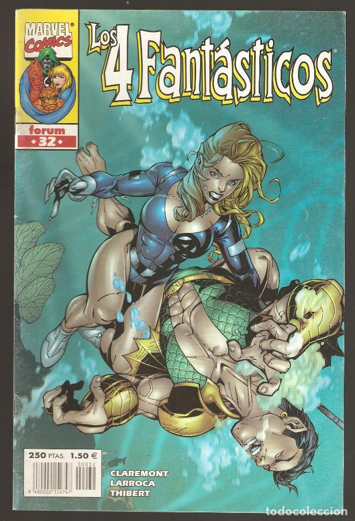 LOS 4 FANTÁSTICOS - HEROES RETURN - Nº 32 - VOL 3 - ABISMO - FORUM - (Tebeos y Comics - Forum - 4 Fantásticos)