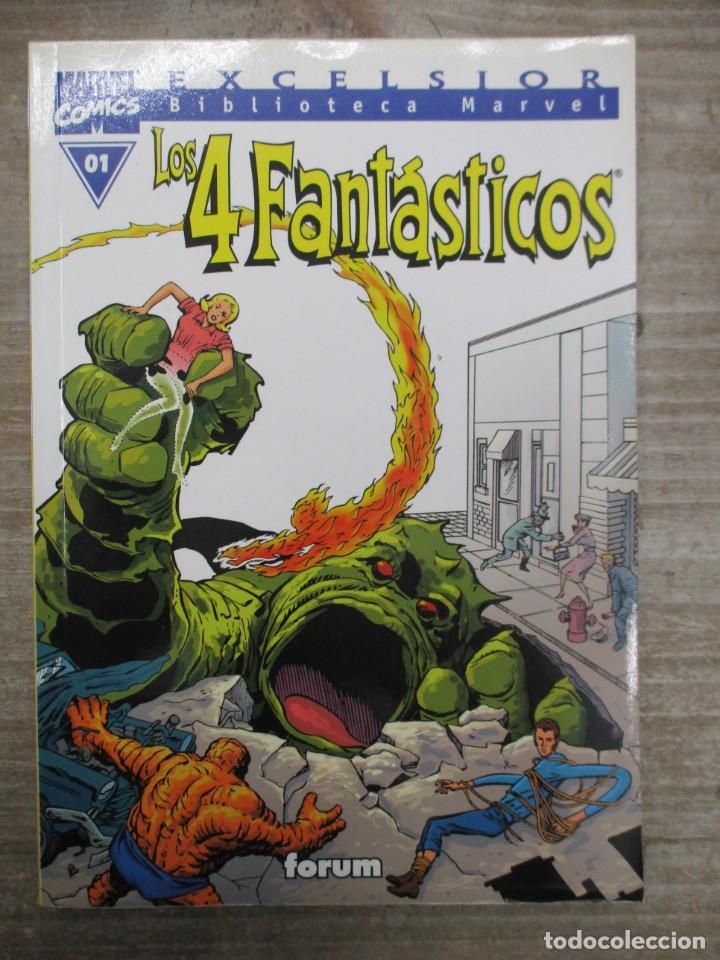 COLECCION COMPLETA BIBLIOTECA MARVEL LOS 4 FANTASTICOS - 35 NUMEROS - FORUM (Tebeos y Comics - Forum - 4 Fantásticos)