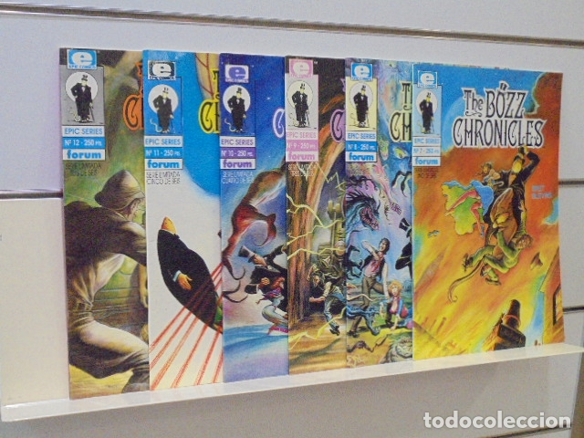 EPIC SERIES Nº 7-8-9-10-11 Y 12 THE BOZZ CHRONICLES COMPLETA SERIE LIMITADA DE 6 NUMEROS - FORUM - (Tebeos y Comics - Forum - Otros Forum)