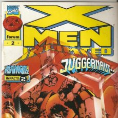 Cómics: X-MEN UNLIMITED - Nº 2 - VOL 1 - EL JUGGERNAUT QUE FUE Y SERÁ - FORUM -. Lote 165779290