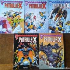 Cómics: BIBLIOTECA MARVEL LA PATRULLA X 1,2,4,10,11. Lote 165833502
