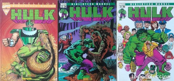 BIBLIOTECA MARVEL HULK 10,24,25 (Tebeos y Comics - Forum - Hulk)