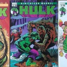 Comics: BIBLIOTECA MARVEL HULK 10,24,25. Lote 165843318