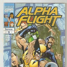 Cómics: ALPHA FLIGHT - Nº 9 - VOL 2 - OBJETIVO LOBEZNO - FORUM -. Lote 165878026