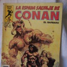 Cómics: LA ESPADA SALVAJE DE CONAN. PLANETA COMIC. SERIE ORO. EDICIONES FORUM.. Lote 165882394