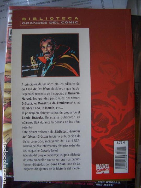 Cómics: BIBLIOTECA GRANDES DEL COMIC: DRACULA #1 (FORUM) - Foto 4 - 165930290