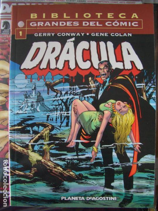 BIBLIOTECA GRANDES DEL COMIC: DRACULA #1 (FORUM) (Tebeos y Comics - Forum - Prestiges y Tomos)