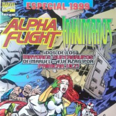 Cómics: ESPECIAL 1999 ALPHA FLIGHT & INHUMANOS. Lote 166085580