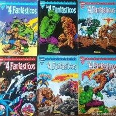 Cómics: LOS 4 FANTASTICOS BIBLIOTECA MARVEL 1,15,16,17,19,23. Lote 166087638