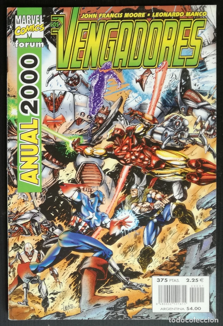 COMIC LOS VENGADORES, ANUAL 2000 - MARVEL COMICS FORUM (Tebeos y Comics - Forum - Vengadores)