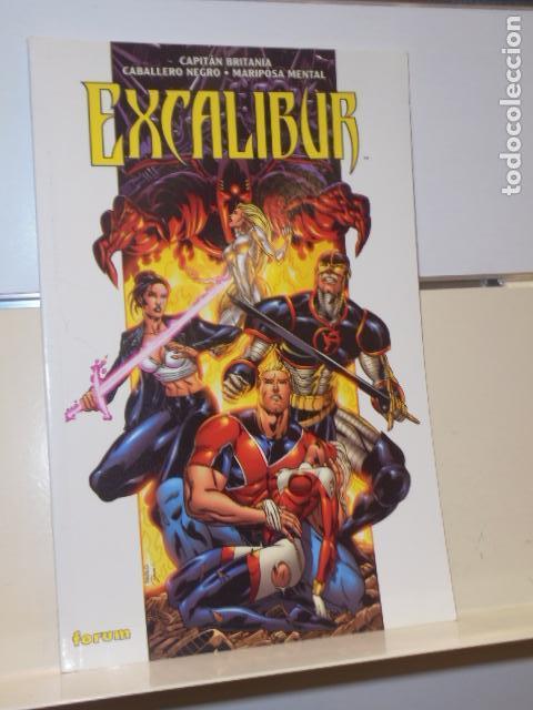 EXCALIBUR CAPITAN BRITANIA CABALLERO NEGRO Y MARIPOSA MENTAL - FORUM - OFERTA (Tebeos y Comics - Forum - Otros Forum)
