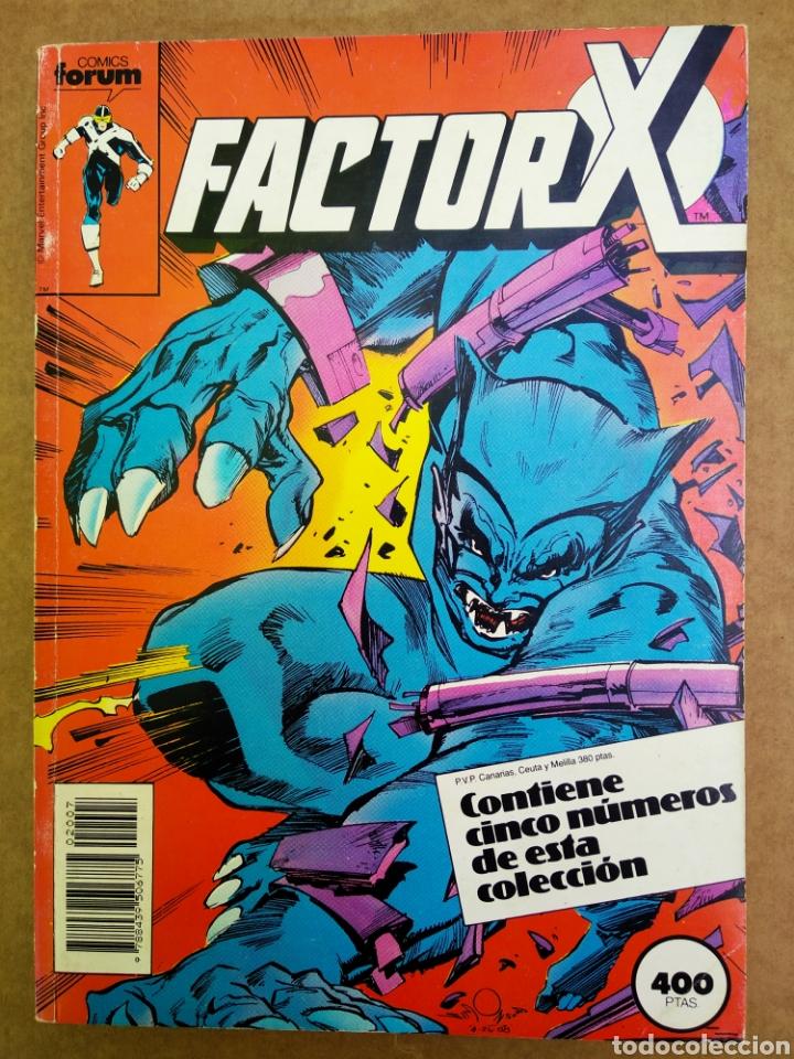RETAPADO FACTOR X (CÓMICS FORUM, 1990). NÚMEROS 31-32-33-34-35. CON POWER PACK DE COMPLEMENTO. (Tebeos y Comics - Forum - Factor X)
