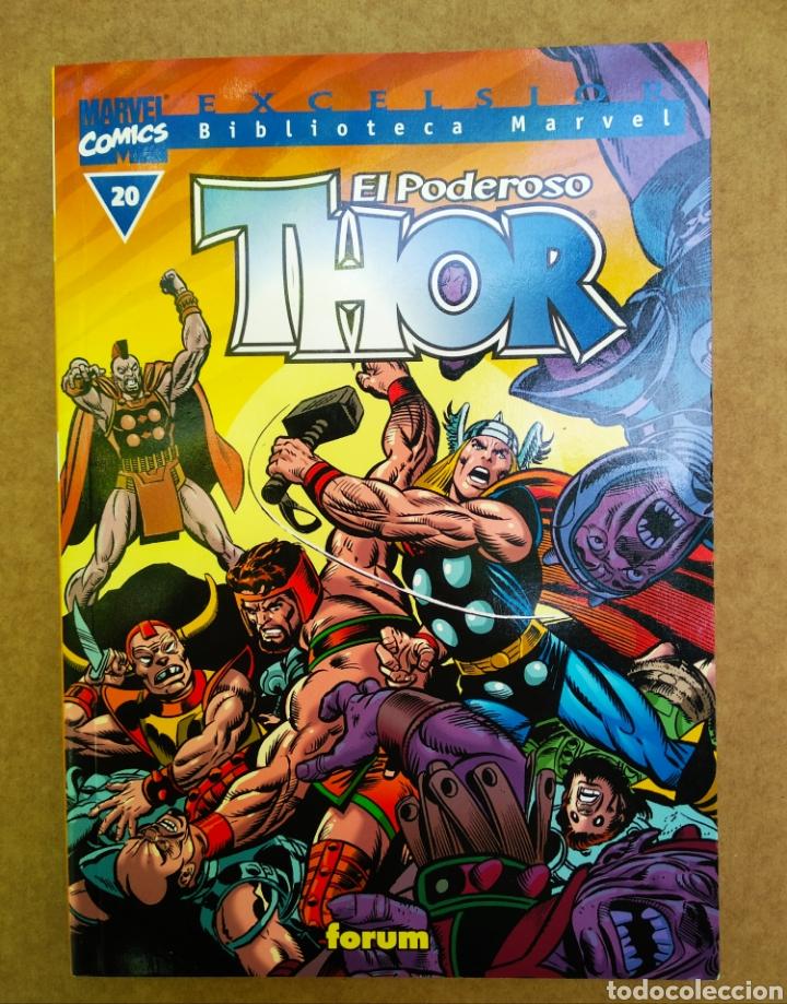 EXCELSIOR BIBLIOTECA MARVEL: THOR N°20 (CÓMICS FORUM, 2002). 160 PÁGINAS EN B/N. (Tebeos y Comics - Forum - Thor)