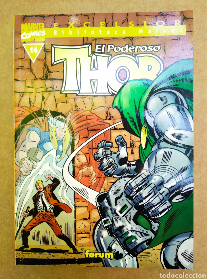 EXCELSIOR BIBLIOTECA MARVEL: THOR N°14 (CÓMICS FORUM, 2002). 160 PÁGINAS EN B/N. (Tebeos y Comics - Forum - Thor)