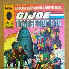 Cómics: G.I.JOE Y LOS TRANSFORMERS N°23 (CÓMICS FORUM, 1989). 68 PÁGINAS A COLOR. GIJOE. Lote 166406681