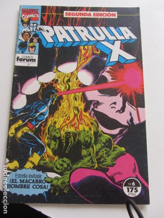 LA PATRULLA-X (2ª EDICIÓN) VOL.1 Nº 6 FORUM MAS Nº DE ESTA COLECCIÓN EN VENTA, PIDE TUS FALTAS C9X3 (Tebeos y Comics - Forum - X-Men)