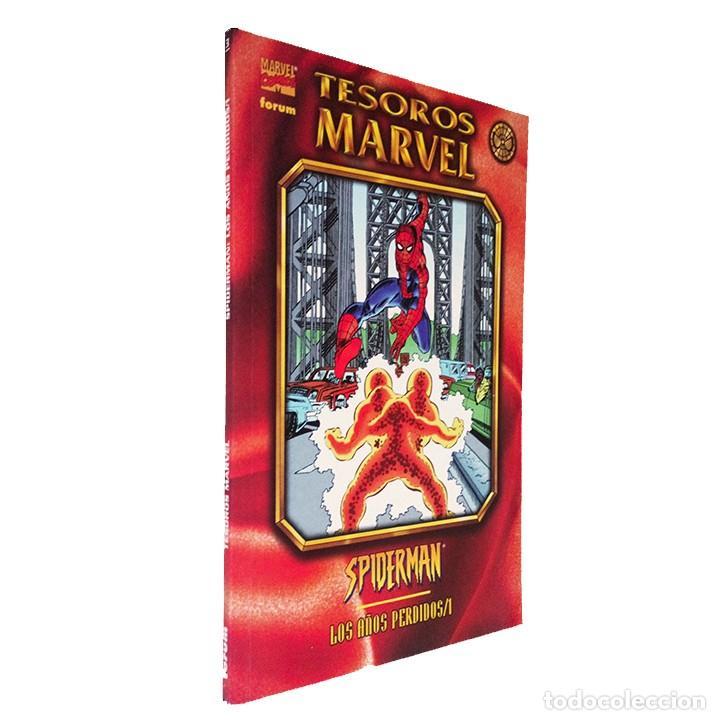 CÓMIC SPIDERMAN / LOS AÑOS PERDIDOS 1 / COLECCIÓN TESOROS MARVEL / FORUM 1998 (Tebeos y Comics - Forum - Prestiges y Tomos)