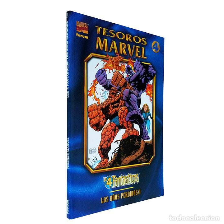 CÓMIC LOS 4 FANTÁSTICOS / LOS AÑOS PERDIDOS 1 / COLECCIÓN TESOROS MARVEL / FORUM 1998 (Tebeos y Comics - Forum - Prestiges y Tomos)