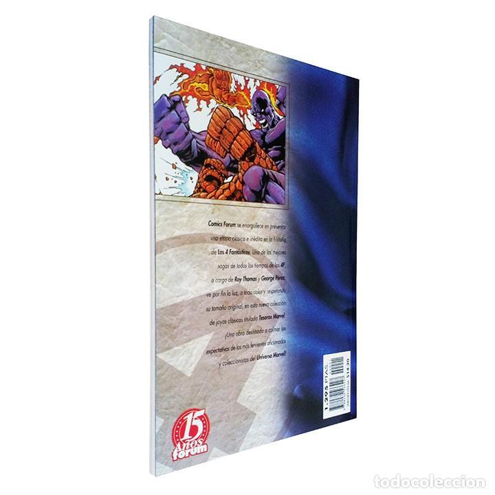 Cómics: Cómic Los 4 Fantásticos / Los Años Perdidos 1 / Colección Tesoros Marvel / Forum 1998 - Foto 2 - 166612890
