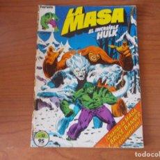 Comics: LA MASA (HULK). VOL-1 Nº 12. FORUM. Lote 166626902