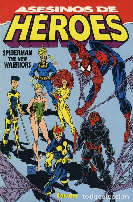 SPIDERMAN NEW WARRIORS: ASESINOS DE HÉROES -TOMO FORUM. (Tebeos y Comics - Forum - Spiderman)