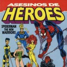 Cómics: SPIDERMAN NEW WARRIORS: ASESINOS DE HÉROES -TOMO FORUM.. Lote 166634938