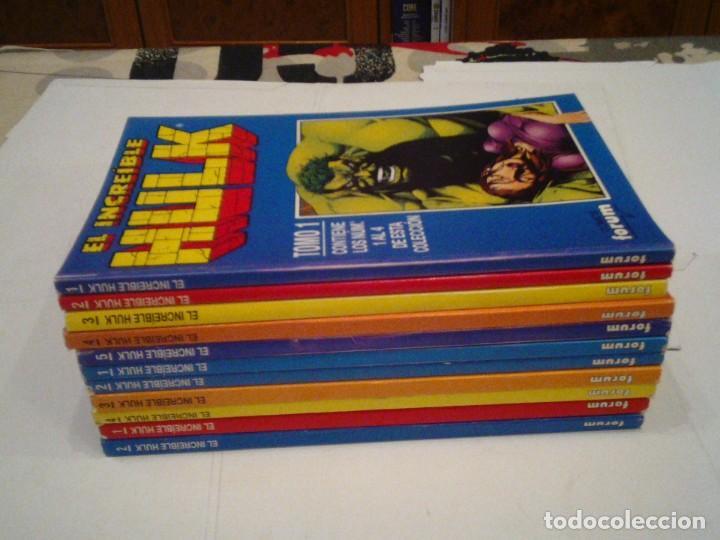 HULK - VOLUMEN II + III + IV - FORUM - COMPLETOS - MUY BUEN ESTADO - TOMOS RETAPADOS - GORBAUD (Tebeos y Comics - Forum - Hulk)